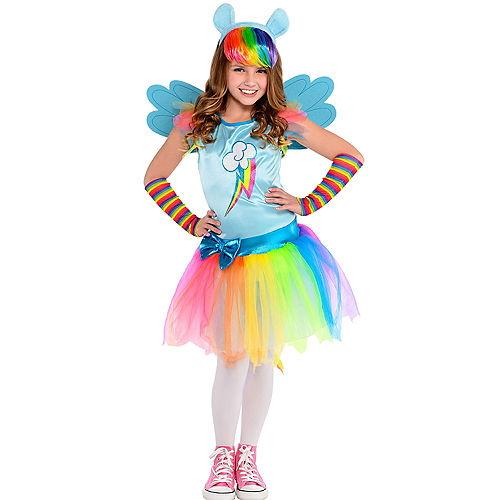 Girls Rainbow Dash Costume - My Little Pony Image #1