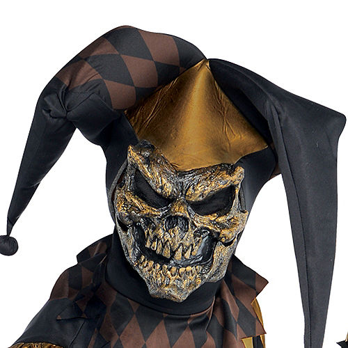 Adult Joker's Wild Skeleton Costume Image #2