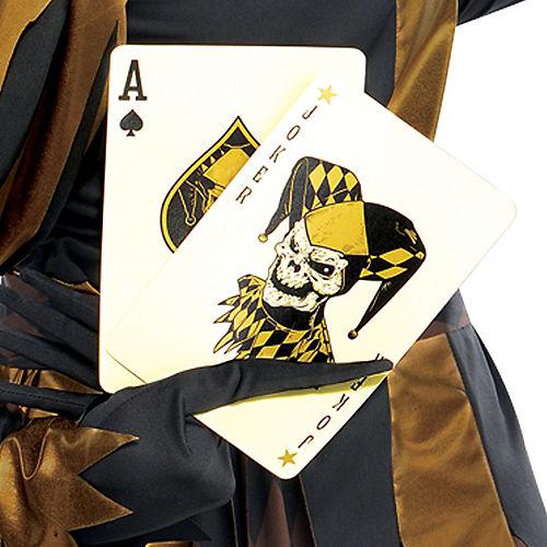 Adult Joker's Wild Skeleton Costume Image #4