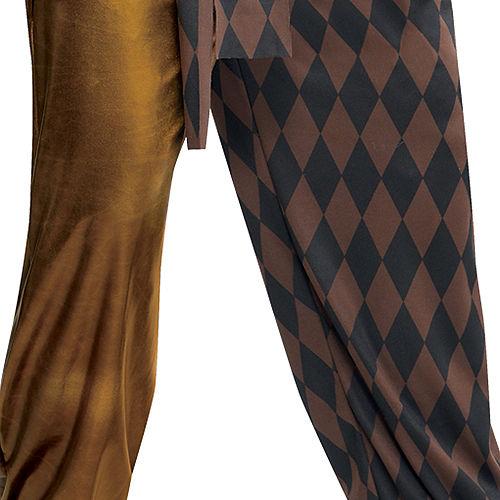 Adult Joker's Wild Skeleton Costume Image #5