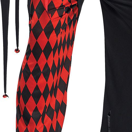 Adult Krazed Jester Costume Image #5