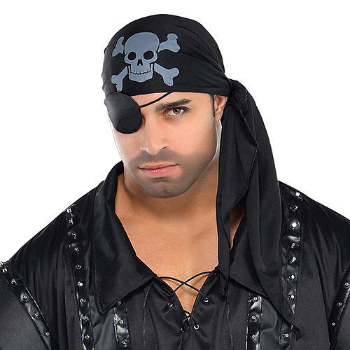 Adult Dark Sea Scoundrel Pirate Costume Plus Size Image #2