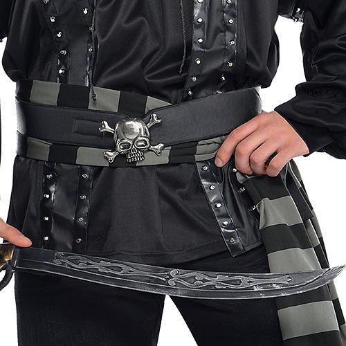 Adult Dark Sea Scoundrel Pirate Costume Plus Size Image #4