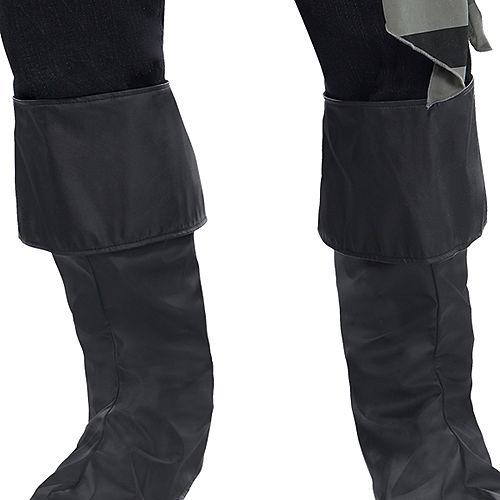Adult Dark Sea Scoundrel Pirate Costume Plus Size Image #5