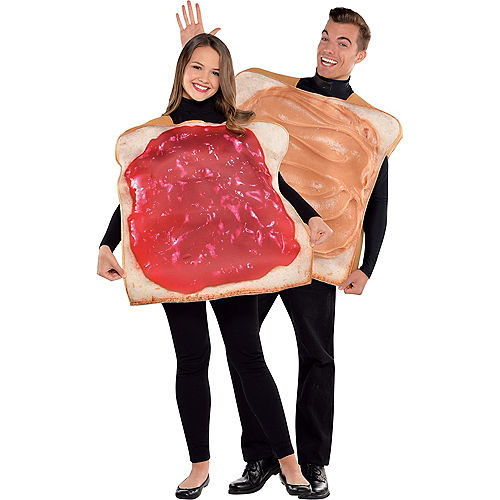 Adult Peanut Butter & Jelly Costume Classic Image #1