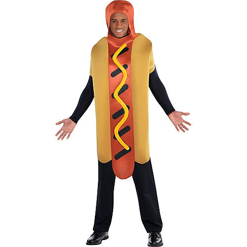 Adult Hot Diggity Hot Dog Costume Image #1