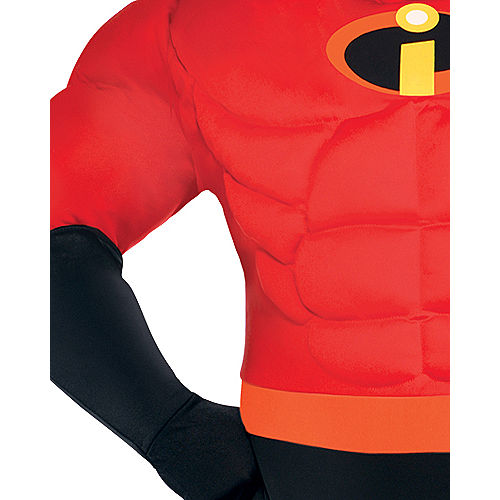 Mens Mr. Incredible Muscle Costume Plus Size - The Incredibles Image #3