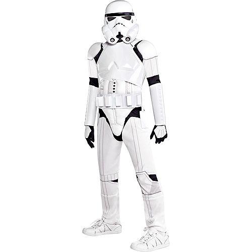 Boys Stormtrooper Costume Deluxe - Star Wars Image #1