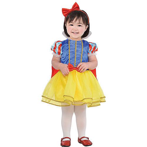 Baby Girls Classic Snow White Costume Image #1