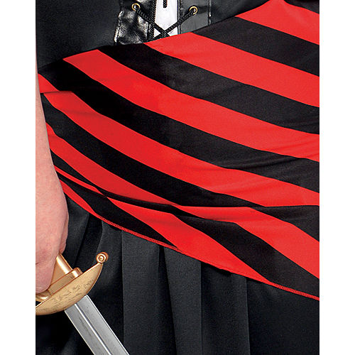 Adult Rogue Maiden Pirate Costume Plus Size Image #4