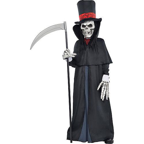 Boys Dapper Death Reaper Costume Image #1