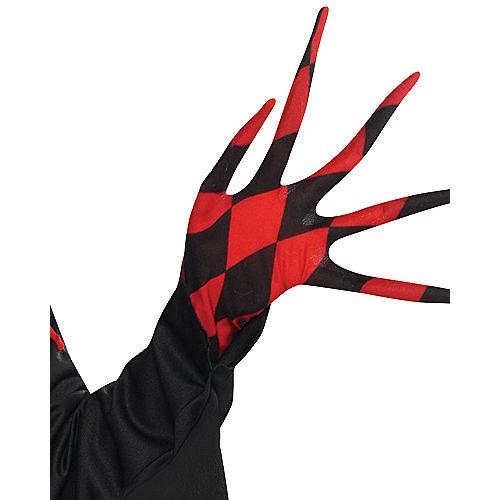Boys Krazed Jester Costume Image #3
