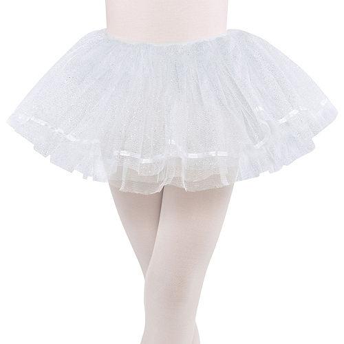 Child Shimmer White Tutu Image #1
