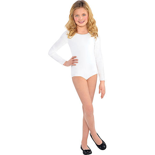 Child White Bodysuit Image #1
