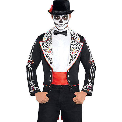 Adult Day of the Dead Accessory Kit Image #1