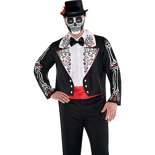 Adult Day of the Dead Accessory Kit Image #3