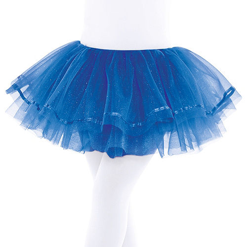 Child Royal Blue Shimmer Tutu Image #1