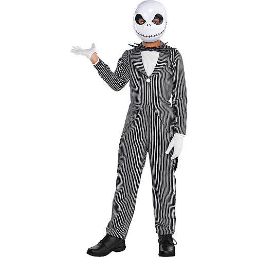 Boys Jack Skellington Costume - The Nightmare Before Christmas Image #1