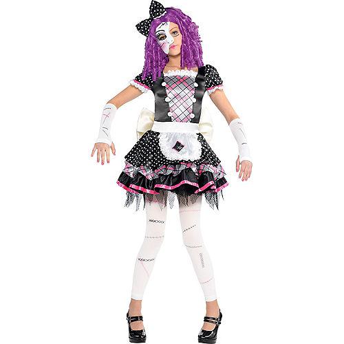 Girls Damaged Doll Costume Image #1