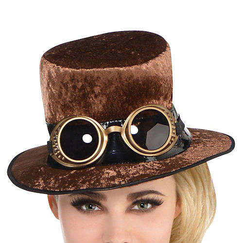 Adult Steamy Dreamy Steampunk Costume Image #2