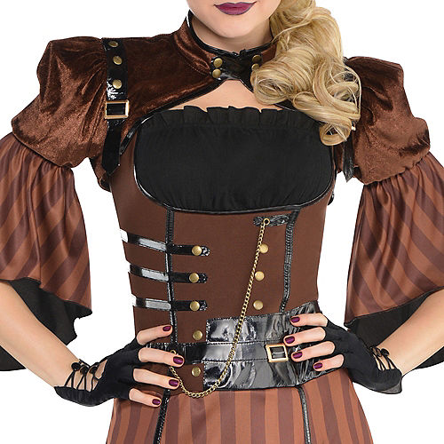 Adult Steamy Dreamy Steampunk Costume Image #4