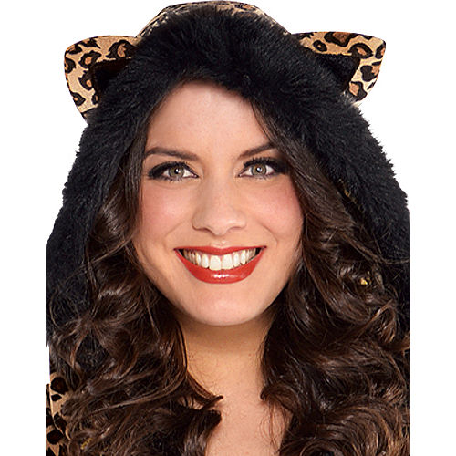 Adult Pretty Kitty Costume Plus Size - Cat Image #2
