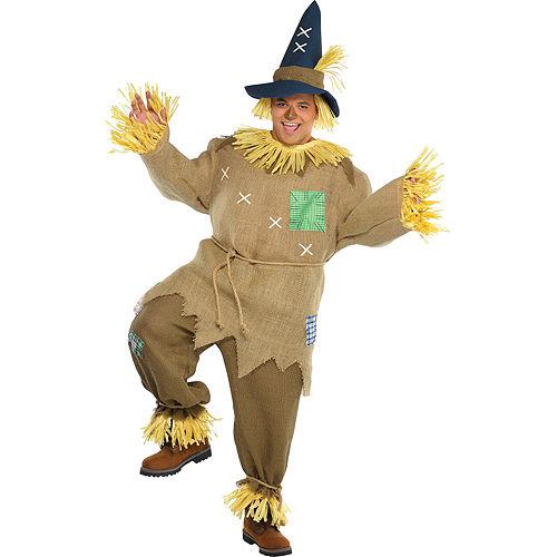 Adult Mr. Scarecrow Costume Plus Size Image #1