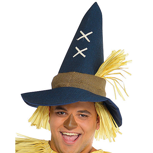 Adult Mr. Scarecrow Costume Plus Size Image #2