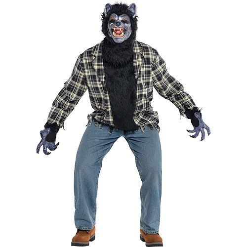 Adult Rabid Werewolf Costume Plus Size Image #1