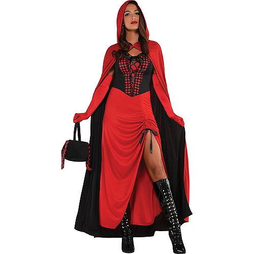 Adult Enchantress Red Riding Hood Costume Image #1