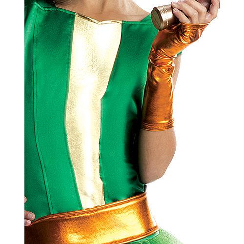 Girls Michelangelo Costume Deluxe - Teenage Mutant Ninja Turtles Image #4