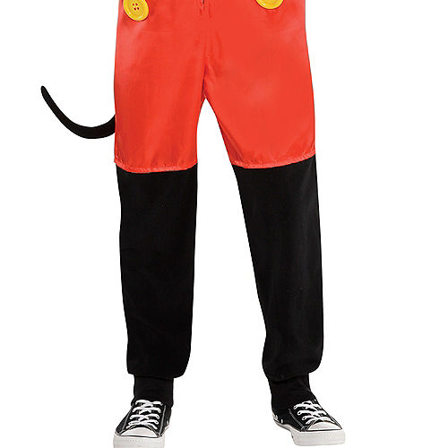 Zipster Mickey Mouse One Piece Costume Image #4
