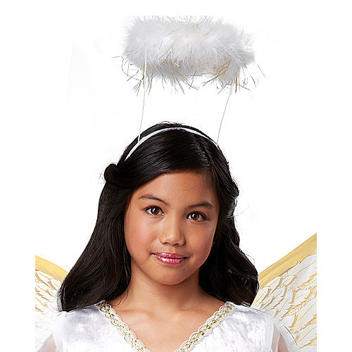 Girls Guardian Angel Costume Image #2