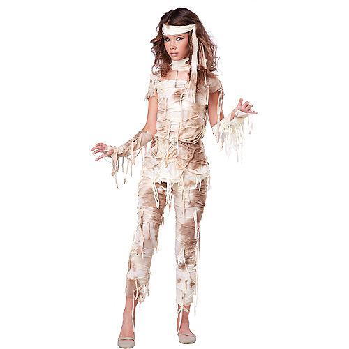 Teen Girls Mystical Mummy Costume Image #1