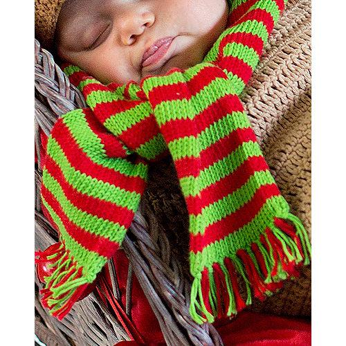 Baby Crochet Cocoon Randolph Reindeer Costume Image #3