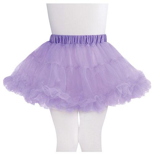 Child Lavender Petticoat Image #1
