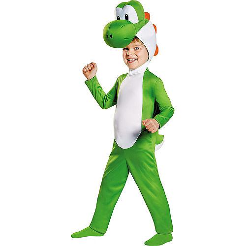 Toddler Boys Yoshi Costume - Super Mario Brothers Image #1