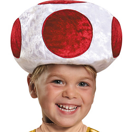 Toddler Boys Toad Costume - Super Mario Brothers Image #2