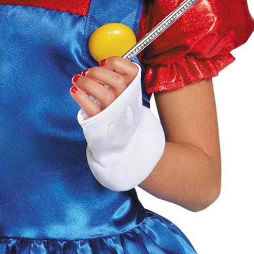 Girls Miss Mario Costume - Super Mario Brothers Image #4
