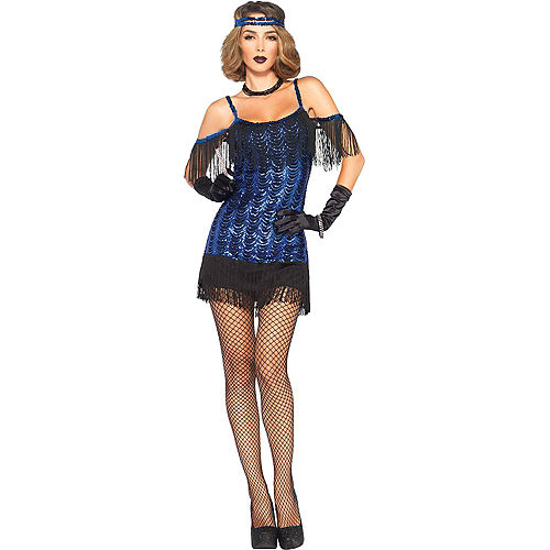 Adult Gatsby Flapper Costume Image #1