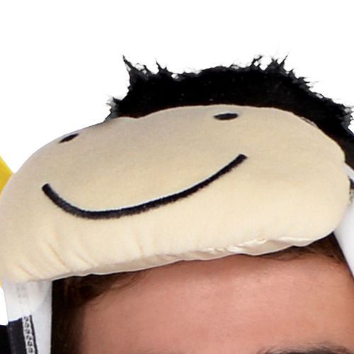Adult Zipster Cow One Piece Costume Image #2