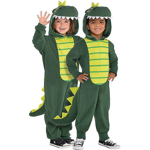 Toddler Zipster Dinosaur One Piece Costume Image #1