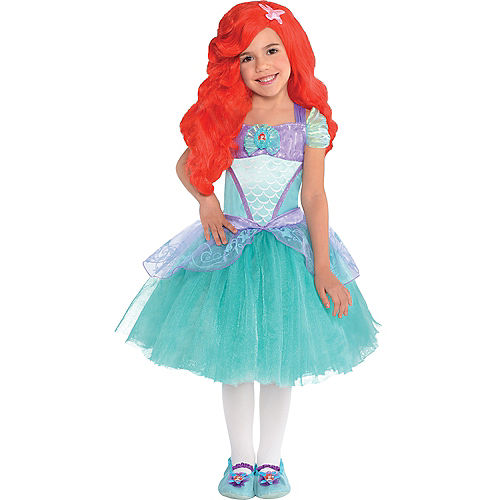 Girls Ariel Costume Premier - The Little Mermaid Image #1