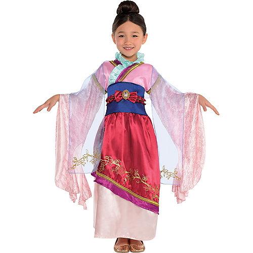 Girls Mulan Costume Classic Image #1
