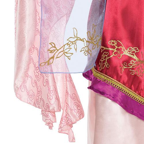 Girls Mulan Costume Classic Image #3