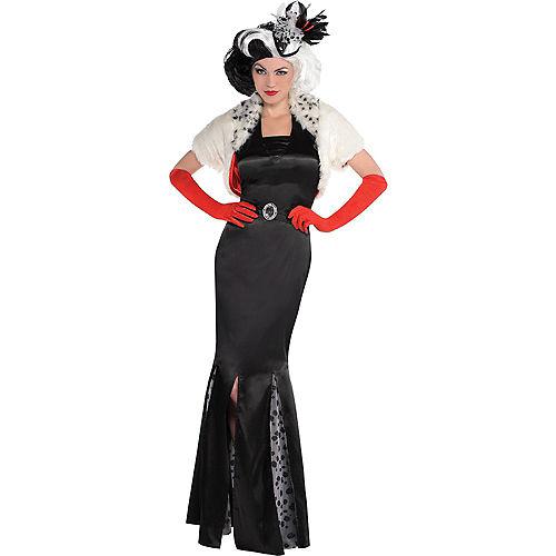 Adult Cruella De Vil Costume - 101 Dalmatians Image #1