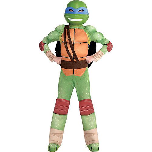 Boys Leonardo Muscle Costume - Teenage Mutant Ninja Turtles Image #1