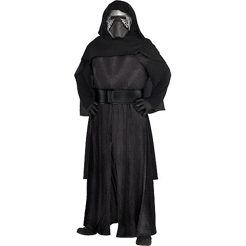 Adult Kylo Ren Costume Plus Size Deluxe - Star Wars 7 The Force Awakens Image #1