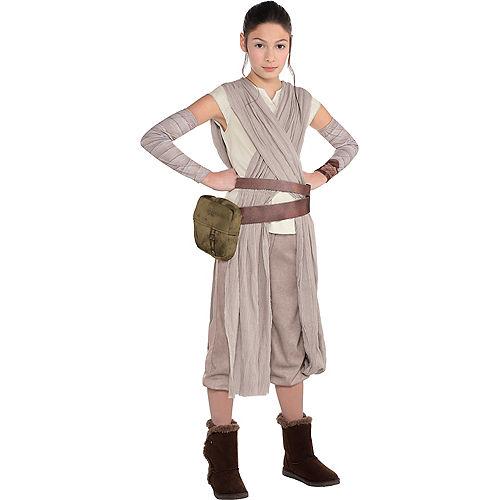 Girls Rey Costume - Star Wars 7 The Force Awakens Image #1