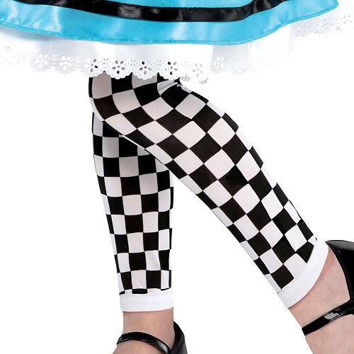 Girls Wonderful Alice Costume Image #3